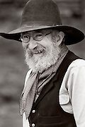 WY02356-01...WYOMING - Ranch hand Bobby Picklesimer on the Willow Creek Ranch. MR# P10