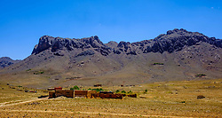 A remote mountain village near the Todra Valley in Morocco<br /> <br /> (c) Andrew Wilson   Edinburgh Elite media