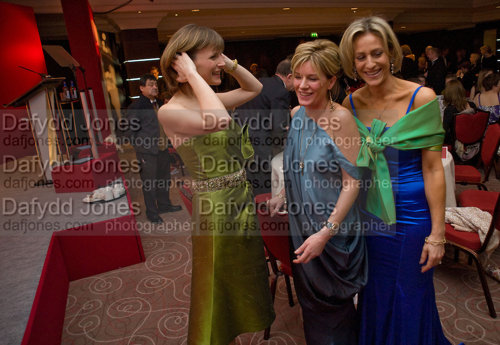 Katie Derham; Andrea Catherwood; Emily Maitlis;. The Costa Book of the Year Award at the Costa Book Awards. The Intercontinental Hotel, Hamilton Place. London. 27 January 2009 *** Local Caption *** -DO NOT ARCHIVE -Copyright Photograph by Dafydd Jones. 248 Clapham Rd. London SW9 0PZ. Tel 0207 820 0771. www.dafjones.com<br /> Katie Derham; Andrea Catherwood; Emily Maitlis;. The Costa Book of the Year Award at the Costa Book Awards. The Intercontinental Hotel, Hamilton Place. London. 27 January 2009