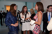 ISABELLE KOUNTOURE; DASHA ZHUKOVA; ANDREA DELLAL, Phillips de Pury and Company.- BRIC- Exhibition and auction celebrating Brazil, Russia, India and China at the Saatchi Gallery. London.  17 April 2010.