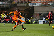 Paul McMullan of Dundee United scores the opening goal - Dundee United v Dumbarton in the SPFL Championship at Tannadice, Dundee<br /> <br />  - &copy; David Young - www.davidyoungphoto.co.uk - email: davidyoungphoto@gmail.com