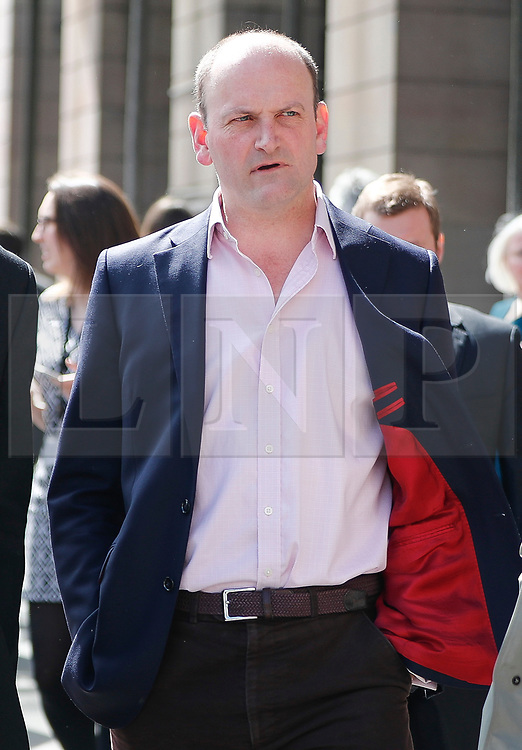 © Licensed to London News Pictures. 18/04/2017. London, UK. UKIP MP DOUGLAS CARSWELL seen arriving at the Houses of Parliament on the day that British Prime Minister Theresa May announced a snap general election for June 8th, 2017. Photo credit: Tolga Akmen/LNP