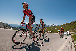 Maximilian Kuen (AUT) of team Amplatz - BMC during the 166.8 km long 6th stage from Lienz to Kitzbuheler Horn at 67th Tour of Austria, on July 8, 2015, Austria. Photo by Urban Urbanc / Sportida
