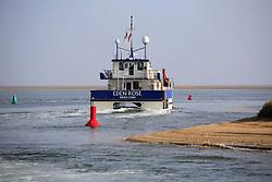 UK ENGLAND NORFOLK SHERINGHAM SHOAL 25SEP13 - Tidal Transit vessel Eden rose leaves Wells harbour on the Norfolk coast, England.<br /> <br /> <br /> <br /> jre/Photo by Jiri Rezac<br /> <br /> <br /> <br /> © Jiri Rezac 2013