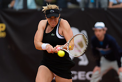 May 14, 2019 - Rome, ITALY - Anastasia Pavlyuchenkova of Russia in action during her first-round match at the 2019 Internazionali BNL d'Italia WTA Premier 5 tennis tournament (Credit Image: © AFP7 via ZUMA Wire)