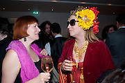 NELL CAMPBELL; KATRINE BOORMAN, The after-party after the premiere of Duncan WardÕs  film ÔBoogie WoogieÕ ( based on the book by Danny Moynihan). Westbury Hotel. Conduit St. London.  13 April 2010 *** Local Caption *** -DO NOT ARCHIVE-© Copyright Photograph by Dafydd Jones. 248 Clapham Rd. London SW9 0PZ. Tel 0207 820 0771. www.dafjones.com.<br /> NELL CAMPBELL; KATRINE BOORMAN, The after-party after the premiere of Duncan Ward's  film 'Boogie Woogie' ( based on the book by Danny Moynihan). Westbury Hotel. Conduit St. London.  13 April 2010