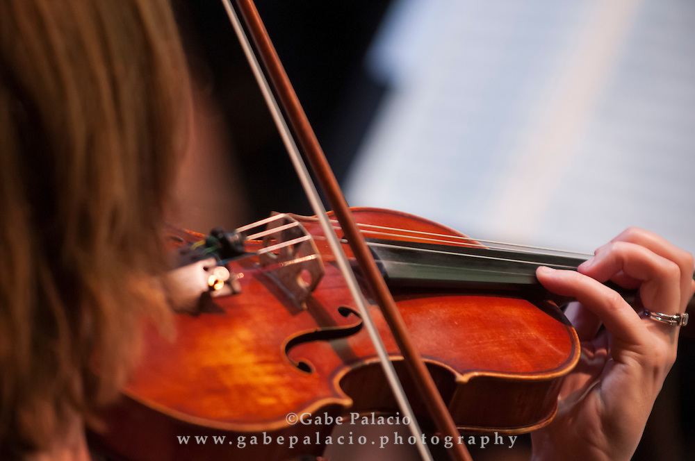 The Orchestra of St. Luke's  in the Venetian Theater at Caramoor on July 15, 2012..photo by Gabe Palacio