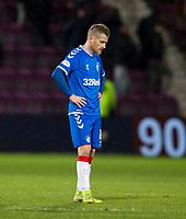 Football - 2019 / 2020 William Hill Scottish Cup - Quarter-Final: Heart of Midlothian vs. Rangers<br /> <br /> Steven Davis of Rangers at full time, at Tynecastle Park, Edinburgh.<br /> <br /> COLORSPORT/BRUCE WHITE