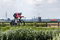 BRÄNDLE Matthias from AUSTRIA during Men Elite Time Trial at 2019 UEC European Road Championships, Alkmaar, The Netherlands, 8 August 2019. <br /> <br /> Photo by Thomas van Bracht / PelotonPhotos.com <br /> <br /> All photos usage must carry mandatory copyright credit (Peloton Photos | Thomas van Bracht)