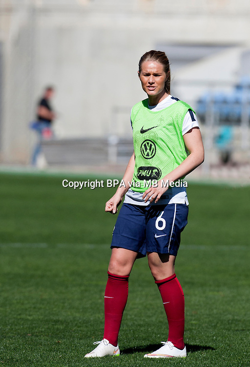 Fifa Womans World Cup Canada 2015 - Preview //<br /> Algarve Cup 2015 Tournament ( Bela Vista Stadium - Parchal ,  Portugal ) - <br /> France vs Denmark  4-1 //  Amandine Henry of France