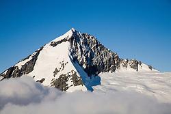 Aerial view of Mount Aspiring, the centerpiece of Mount Aspiring National Park.