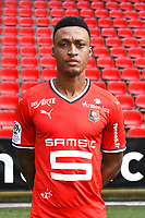 Edson Andre Sitoe Mexer during photoshooting of Stade Rennais for new season 2017/2018 on September 19, 2017 in Rennes, France. (Photo by Philippe Le Brech/Icon Sport)