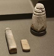 Phallic idols Stone 3000-1700 BC.