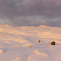 Soft winter light at Ulriken