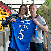 St Johnstone Players Sponsors Night, McDiarmid Park...09.05.12<br /> Frazer Wright<br /> Picture by Graeme Hart.<br /> Copyright Perthshire Picture Agency<br /> Tel: 01738 623350  Mobile: 07990 594431