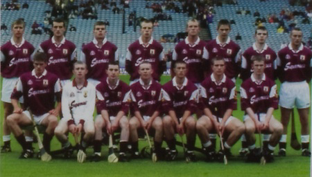 All Ireland Senior Hurling Championship Final,.09.09.2001, 9th September 2001,.Minor Cork 2-10, Galway 1-8,.Senior Tipperary 2-18, Galway 2-15,  .09092001AISHCF,...Galway, 1 Paul Dullaghan, Mountbellow Moylough, 2 C O Dearbhain, Mullagh, 3 Tony Og Regan, Rahoon Newcastle, 4 Ciaran Finnerty, Kiltormer, 5 Eoin Lynch, Portumna, 6 Shane Kavanagh, Kinvara, 7 Joe O'Leary, Ardrahan, 8 Tom Tierney, Kilnadeema Leitrum, 9 Ger Farragher, Castlegar, 10 Brendan Lucas, Meelick Eyrecourt, 11 Kevin Hayes, Portumna, 12 Adrian Cullinane, Craughwell, 13 Joe Gantley, Beagh, 14 Johnnie Maher, Loughrea, 15 Kenneth Burke, St Thomas's, subs, Michael Donoghue, David Collins, Kevin Briscoe, Andrew Smith, Tom Regan, Niall Healy, Robert Murray, Colm Burke, Kevin Huban,