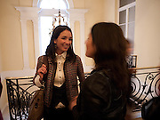 ROCIO LANUSSE; ANDREA HARARI, The launch of PINTA 2010. The Argentine AmbassadorÕs Residence, 49 Belgrave Square, London SW1. 20 April 2010.<br /> ROCIO LANUSSE; ANDREA HARARI, The launch of PINTA 2010. The Argentine Ambassador's Residence, 49 Belgrave Square, London SW1. 20 April 2010.