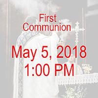St Ann 1st Communion1PM 05-05-18