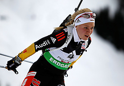 16.12.2011, Biathlonzentrum, Hochfilzen, AUT, E.ON IBU Weltcup, 3. Biathlon, Hochfilzen, Sprint Frauen, im Bild Miriam Goessner (GER) // during Sprint women E.ON IBU World Cup 3th Biathlon, Hochfilzen, Austria on 2011/12/16. EXPA Pictures © 2011, PhotoCredit: EXPA/ Oskar Hoeher