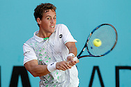 Roberto Carballes Baena during the Madrid Open at Manzanares Park Tennis Centre, Madrid<br /> Picture by EXPA Pictures/Focus Images Ltd 07814482222<br /> 02/05/2016<br /> ***UK &amp; IRELAND ONLY***<br /> EXPA-ESP-160502-0095.jpg