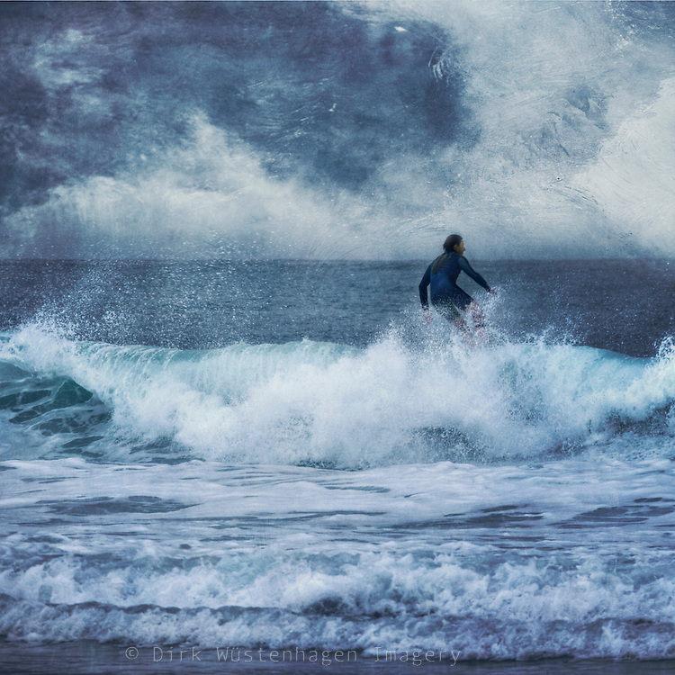 surfer riding a wave<br />