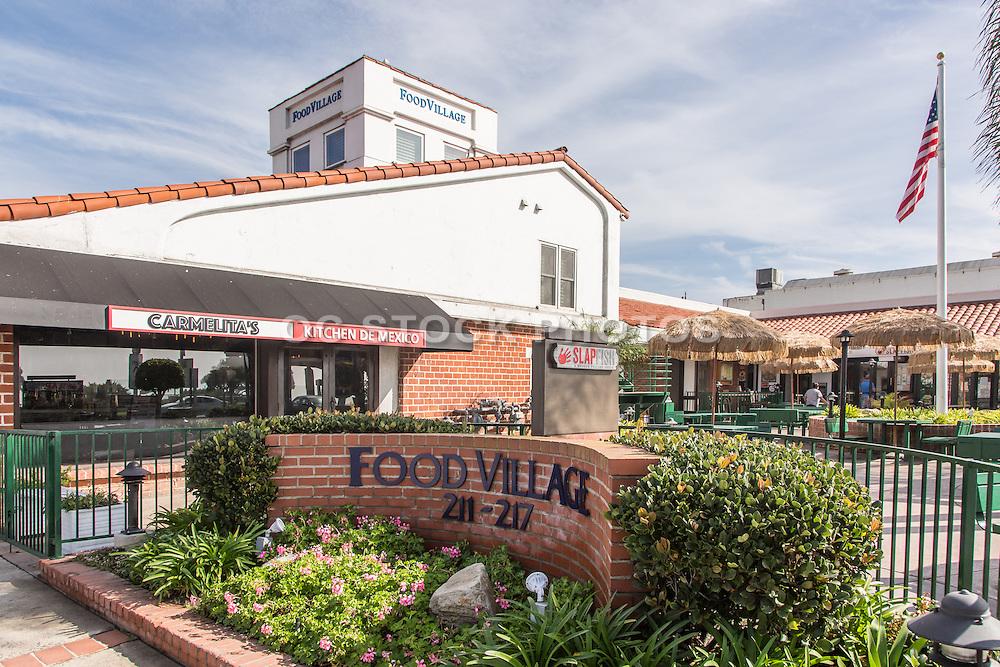 Food Village on Coast Highway Laguna Beach