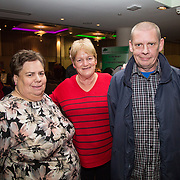 10.10. 2017.          <br /> Pictured at the Limerick Going for Gold 2017 finals in the Strand Hotel were, Liz Grant, Rose O'Neill and Rodney Hayes, Cappamore Estates Residents.<br /> <br /> <br /> Limerick Going for Gold, which is sponsored by the JP McManus Charitable Foundation, has a total prize pool of over €75,000.  It is organised by Limerick City and County Council and supported by Limerick's Live 95FM, The Limerick Leader and The Limerick Chronicle, The Limerick Post, Parkway Shopping Centre, I Love Limerick and Southern Marketing Media & Design. Picture: Alan Place