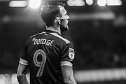 Forest Green Rovers Christian Doidge(9) during the EFL Sky Bet League 2 match between Oldham Athletic and Forest Green Rovers at Boundary Park, Oldham, England on 12 January 2019.
