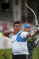 Haziq KAMARUDDIN (MAS), London Archery Classic, part of the LOndon Prepares Olympic Test Events, Lords Cricket Ground London