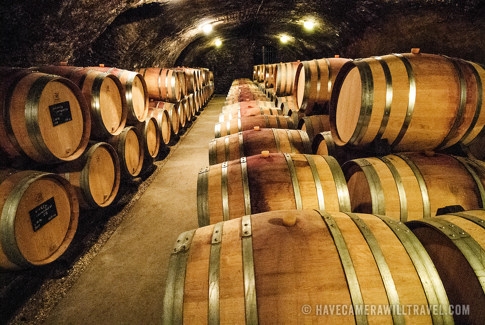 oak wine barrels. Barrels Of Wine In The Cave At Dufouleur Pere Et Fils\u003cbr /\u003e Nuits. Oak