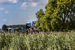 Winner EVENEPOEL Remco from BELGIUM during Men Elite Time Trial at 2019 UEC European Road Championships, Alkmaar, The Netherlands, 8 August 2019.  <br /> <br /> Photo by Thomas van Bracht / PelotonPhotos.com <br /> <br /> All photos usage must carry mandatory copyright credit (Peloton Photos | Thomas van Bracht)