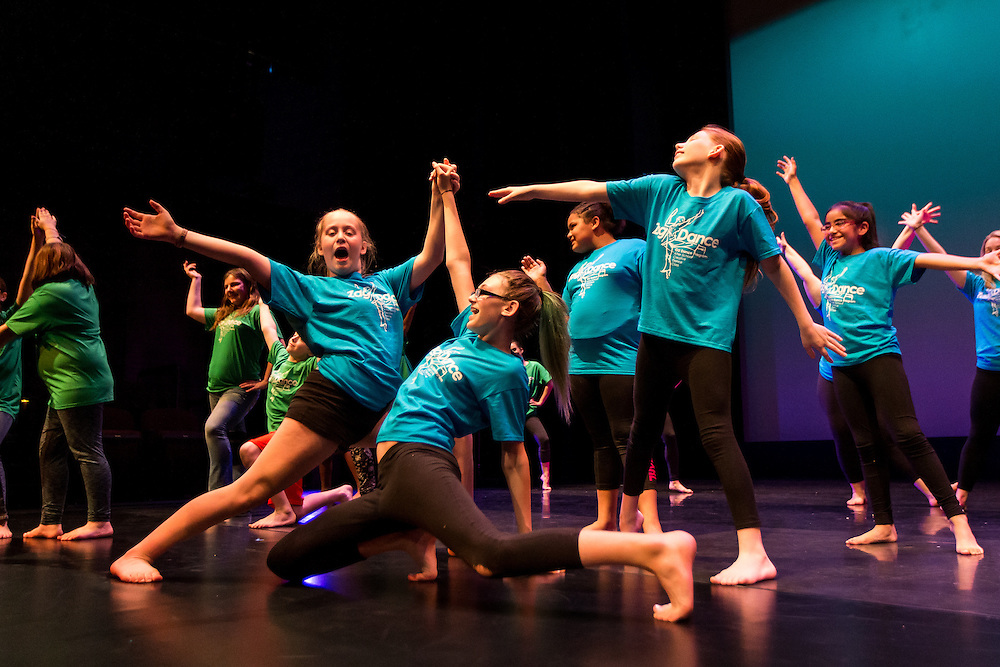 Zag Dance rehearsal on Wednesday, April 20, 2016. (Photo by Ryan Sullivan)