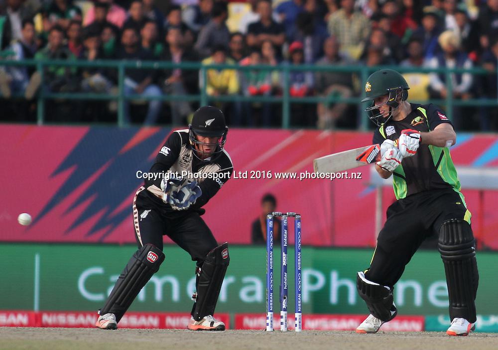 Luke Ronchi during the World T20, 17th Match, Super 10 Group 2: Australia v New Zealand at Dharamsala, Mar 18, 2016, Copyright photo: www.photosport.nz
