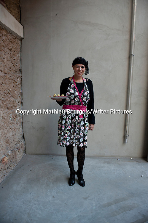 Elsa Launay<br /> Photographed 1st March 2012<br /> <br /> Picture by Mathieu Bourgois/Writer Pictures<br /> <br /> NO FRANCE