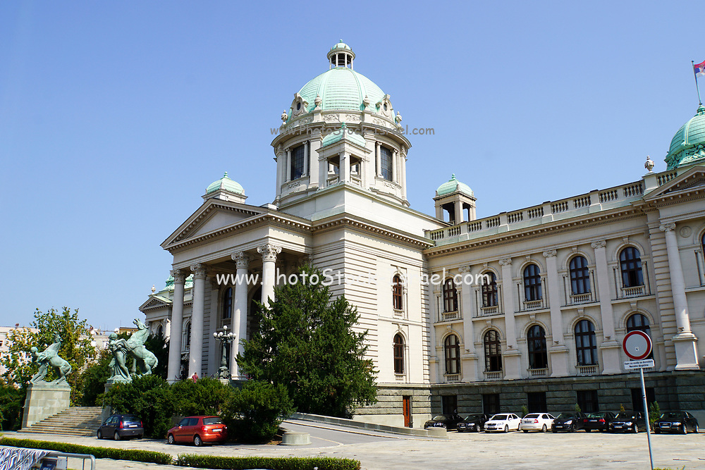 National Assembly building, Belgrade, Serbia