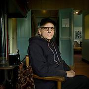 Nederland - Grollo - Drenthe - 22-07-2011<br /> Harry Muskee ( 1941 ) , locatie in<br /> het Cuby museum, waar Harry Muskee eind jaren 60 de legendarische bluesplaten opnam met The Blizzards.<br />  Foto: Sake Elzinga