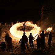 Japan: Hiburi Kamakura Festival in Kakunodate, Akita Prefecture