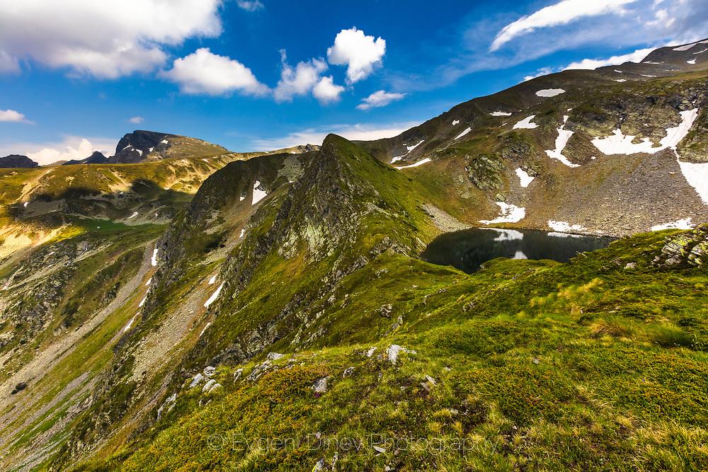 Valley of Urdini lakes in Rila Mountain