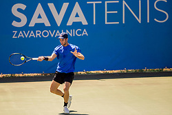 Jose FCO. Vidal Azorin (ESP) play against Franko Skugor (CRO) at ATP Challenger Zavarovalnica Sava Slovenia Open 2017, on August 7, 2017 in Sports centre, Portoroz/Portorose, Slovenia. Photo by Urban Urbanc / Sportida