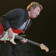 Andy Summers plays as The Police open their 2007 World Tour at The Key Arena in Seattle on 6/6/07.  It was the first time they played in the US since 1983.