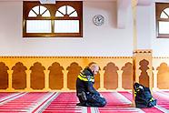 Solidariteitsbijeenkomst Grote Moskee
