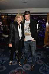 CHRISTIE HYNDE and JAMES WALBOURNE at The Butterfly Ball in aid of Caudwell Children held at the Grosvenor House, Park Lane, London on 25th June 2015