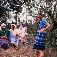 February 10, 1990. harvest ceremony at Modjadji.