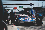June 28 - July 1, 2018: IMSA Weathertech 6hrs of Watkins Glen. 66 Ford Chip Ganassi Racing, Ford GT, Joey Hand, Dirk Mueller