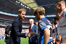 Duke of Sussex at Rugby League Cup Final - 24 Aug 2019