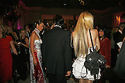 Ha Anh Vu and Gabriella Wirbel, The British Fashion Awards  2006 sponsored by Swarovski . Victoria and Albert Museum. 2 November 2006. ONE TIME USE ONLY - DO NOT ARCHIVE  © Copyright Photograph by Dafydd Jones 66 Stockwell Park Rd. London SW9 0DA Tel 020 7733 0108 www.dafjones.com