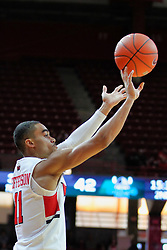 NORMAL, IL - December 16: Josh Jefferson during a college basketball game between the ISU Redbirds and the Cleveland State Vikings on December 16 2018 at Redbird Arena in Normal, IL. (Photo by Alan Look)
