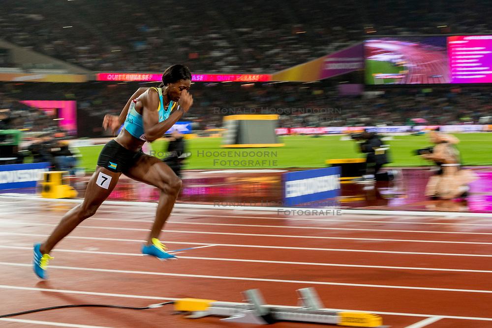 09-08-2017 IAAF World Championships Athletics day 6, London<br /> Shaunae Miller-Uibo BAH, 400 m