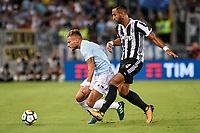 13.08.2017 - Roma - Supercoppa Italiana  -  Juventus-Lazio nella  foto: Medhi Benatia in lotta con Ciro Immobile