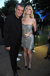 MEREDITH OSTROM and DANNY HUSTON  at the annual Serpentine Gallery Summer Party in association with Swarovski held at the gallery, Kensington Gardens, London on 11th July 2007.<br /><br />NON EXCLUSIVE - WORLD RIGHTS